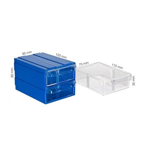 Plastik Çekmeceli Kutular 102-D